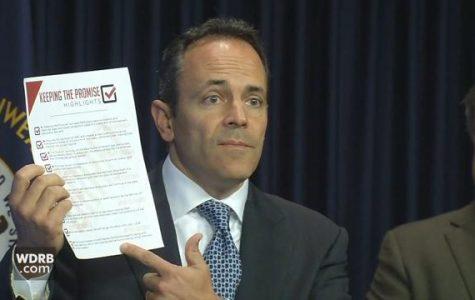 Governor Matt Bevin closes pension system