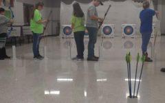 Archery just about underway