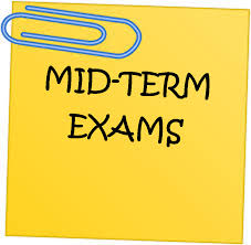 December midterm schedule