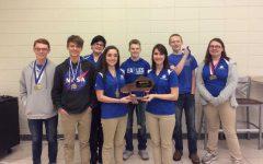 GCHS Academic Team wins  district titles