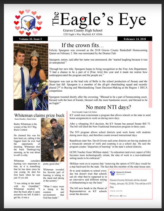 Volume 33, Issue 2- Valentine's Day Edition