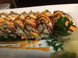 Try the Superman Sushi at Sapporo Sushi Steakhouse
