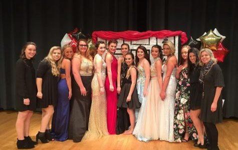 Prom Fashion Show Preparation