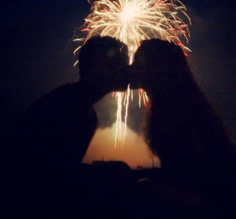 The history of the New Year's kiss