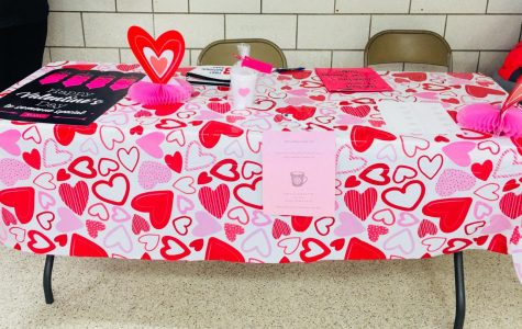 Unified Track Team is selling Valentine's Day Treats