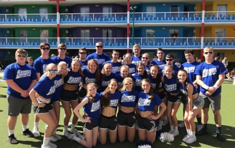GCHS Coed Cheer National Competition
