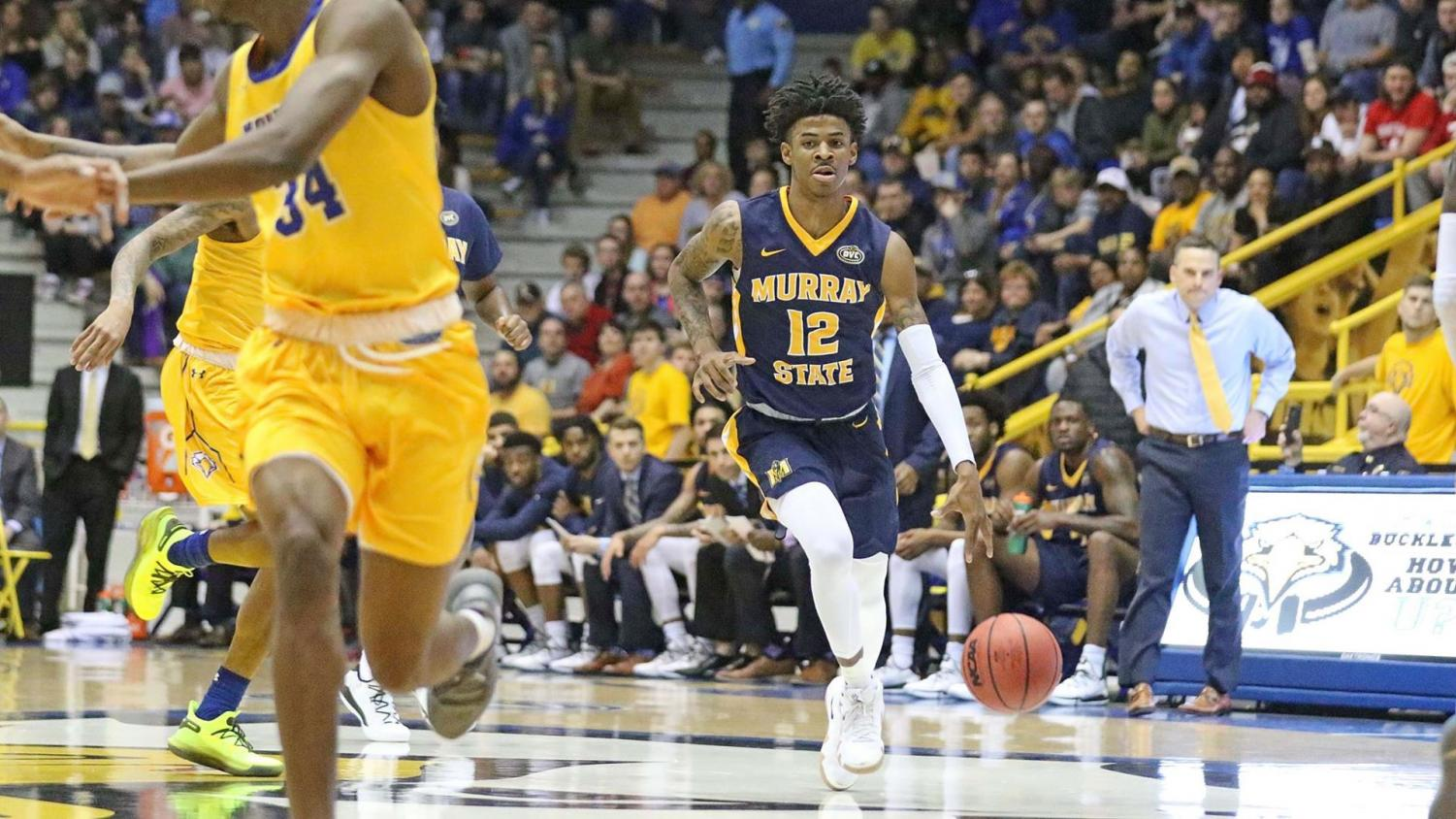 picture from Dave Winder- Murray State Athletics. goracers.com