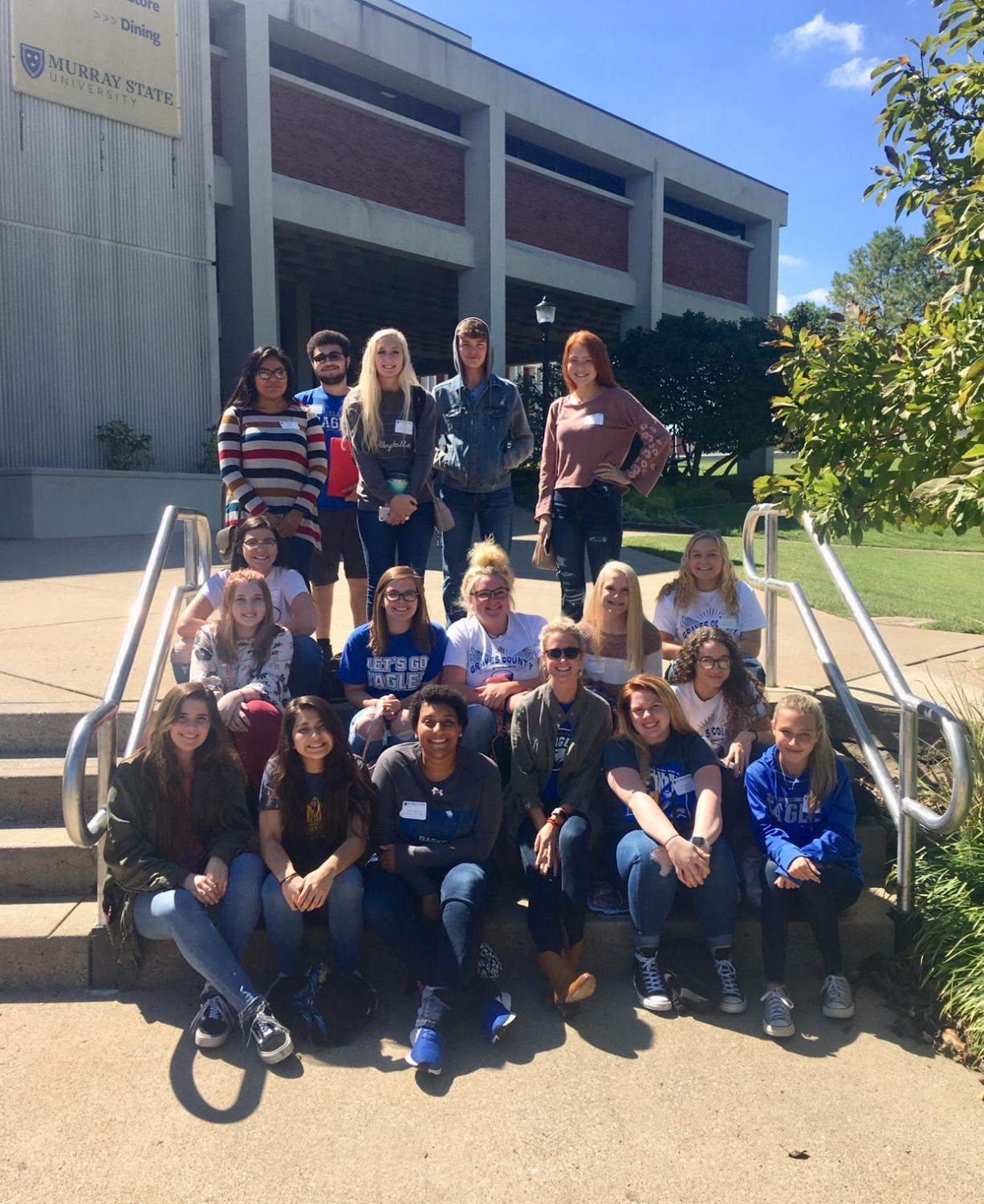 Each year, the GCHS Eagle's Eye competes at the Media Workshop held at Murray State University.
