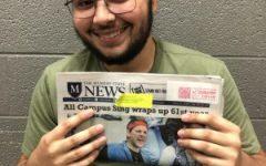 Nick Kendall accepted for MSU News Internship