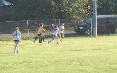 GC girls JV soccer team takes the win over Murray