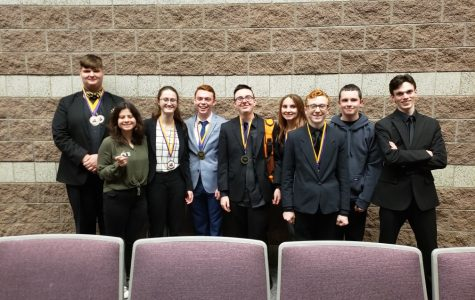 GCHS Forensics Team competes in finals at BGHS Vette City Classic