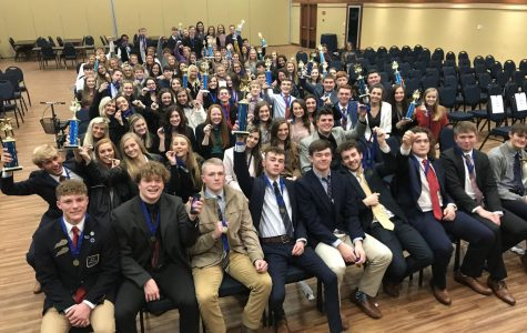 Graves County DECA chapter at regionals.