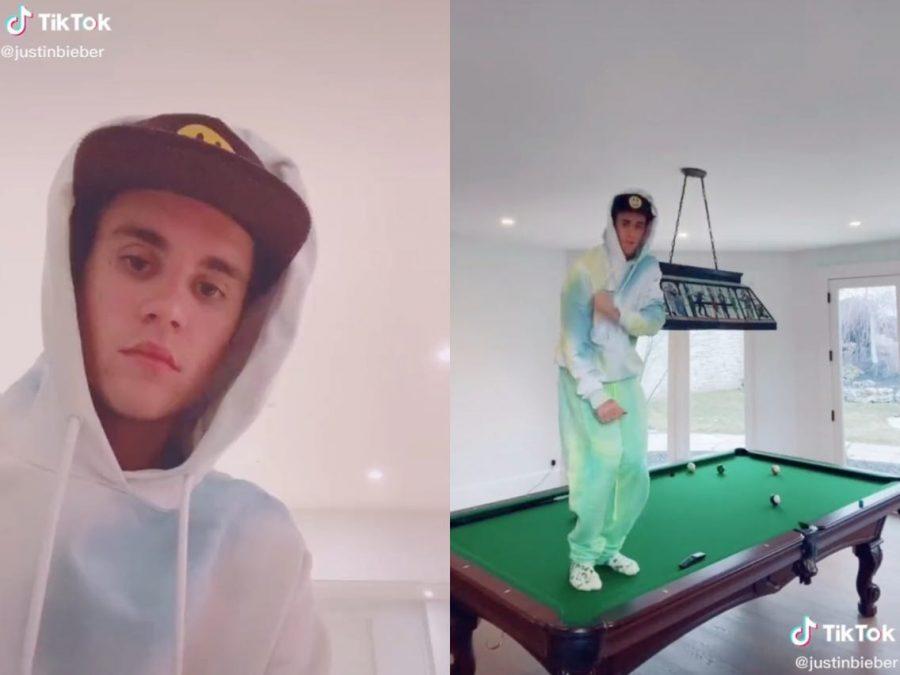 Justin Bieber on TikTok (Insider. com)