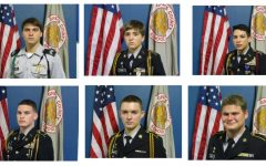 GCHS JROTC Students Enlist