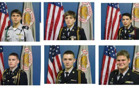 GCHS JROTC Students Enlist