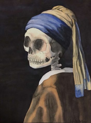Girl without the Pearl Earring by Louis Driver