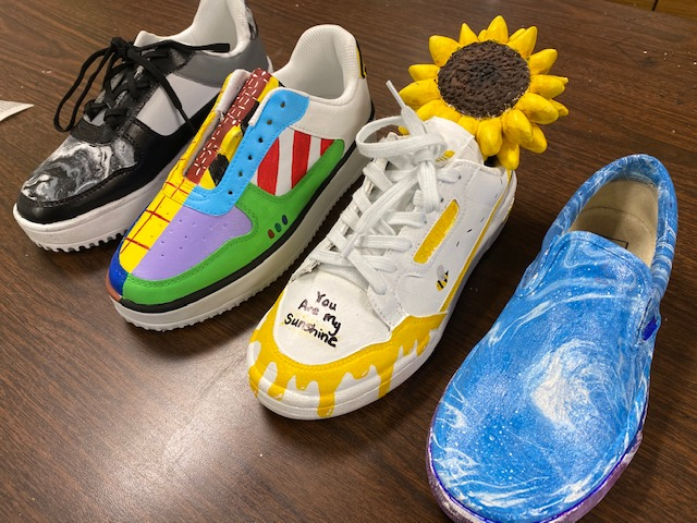 GCHS Art students compete in Vans Custom Culture Competition