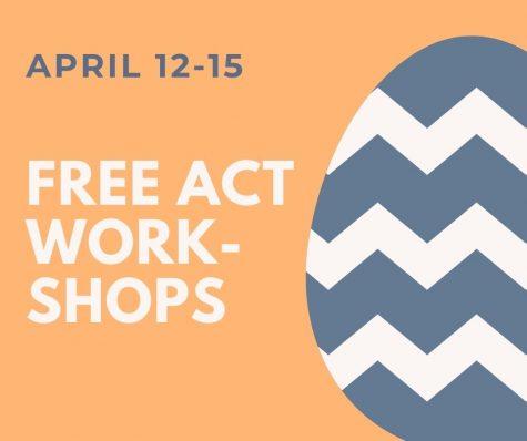 FREE ACT Workshops April 12-15