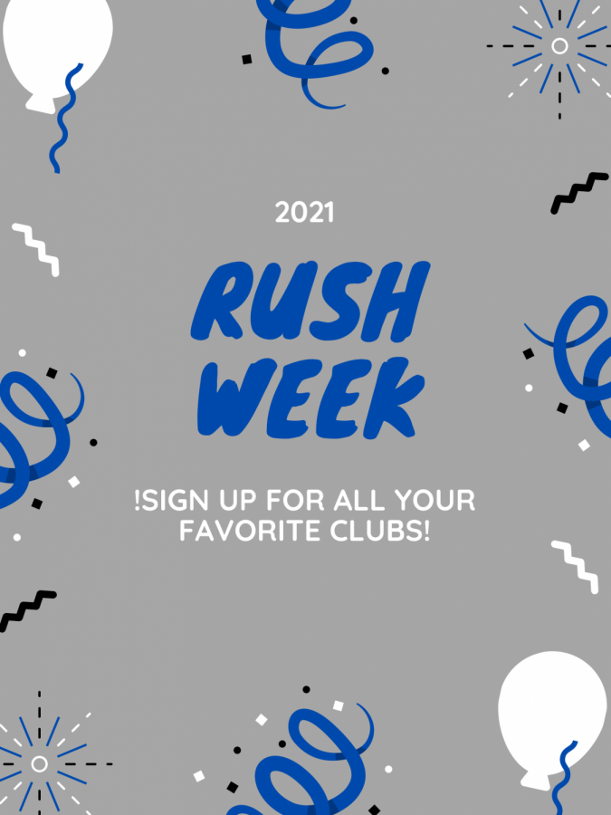 Rush Week is back for 2021